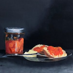 Preserves #2: Judy's Loquat Preserves, English Muffin & Butter