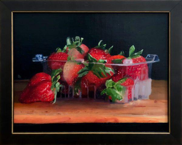 Strawberries from the Fridge