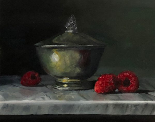 Tarnished Silver and Raspberries